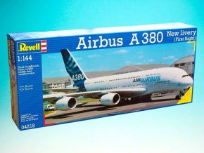 """Revell - Airbus A380, """"New Livery"""", 1/144, ModelKit 04218"""