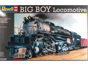 Plastic ModelKit lokomotiva 02165 - Big Boy Locomotive (1:87)