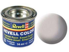 Revell - Barva emailová 14ml - č. 43 matná šedá (grey mat USAF w.), 32143