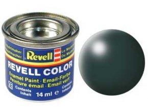 Revell - Barva emailová 14ml - č. 365 hedvábná zelená patina  (patina green silk), 32365