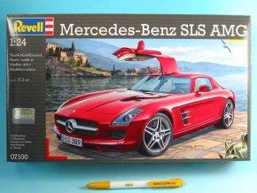 Revell - Mercedes SLS AMG, Modelkit 07100, 1/24