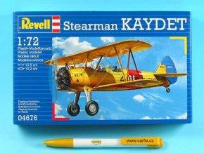 Revell - Boeing Stearman PT-17 Kaydet, ModelKit 04676, 1/72