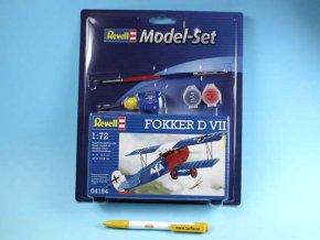 Revell - Fokker D VII, ModelSet 64194, 1/72