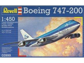 Revell - Boeing B747-206B Jumbo Jet, KLM Royal Dutch Airlines, ModelKit 03999, 1/450