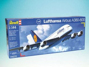 Revell - Airbus A380, Lufthansa, 1/144, ModelKit 04270