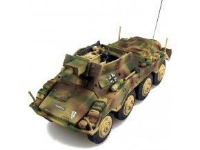 PanzerStahl - Sd.Kfz.234/3 Puma, Wehrmacht, 1. Pz. Division,  Maďarsko, březen 1945, 1/72