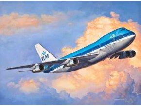 Revell - Boeing B747-200, ModelSet 63999, 1/450