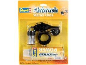 Revell - stříkací pistole Airbrush Spray Gun a hnací plyn Airbrush Power - starter class, 29702