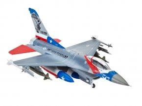 Revell - Lockheed Martin F-16C Fighting Falcon, USAF, ModelSet 63992, 1/144