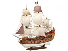 Revell - pirátská loď, ModelKit 05605, 1/72