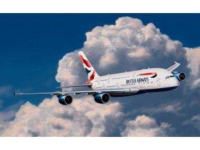 Revell - Airbus A380, British Airways, 1/288, EasyKit 06599