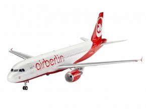 Revell - Airbus A320, AirBerlin, 1/144, ModelSet 64861