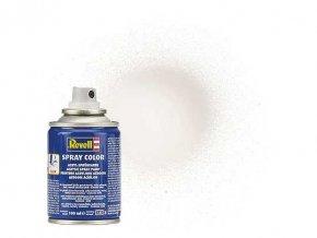 Revell - Barva ve spreji 100 ml - leská bílá (white gloss), 34104
