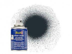Revell - Barva ve spreji 100 ml - matná antracitová šedá (anthracite grey mat), 34109