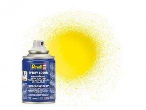 Revell - Barva ve spreji 100 ml - leská žlutá (yellow gloss), 34112