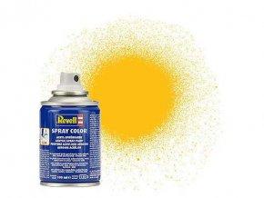 Revell - Barva ve spreji 100 ml - matná žlutá (yellow mat), 34115
