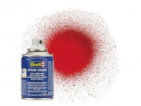 Revell - Barva ve spreji 100 ml - leská ohnivě rudá (fiery red gloss), 34131