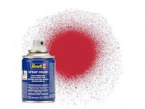 Revell - Barva ve spreji 100 ml - matná karmínová (carmine red mat), 34136