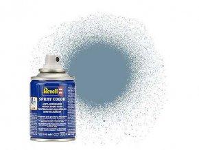 Revell - Barva ve spreji 100 ml - matná šedá (grey mat), 34157
