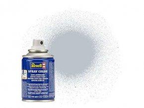 Revell - Barva ve spreji 100 ml - metalická hliníková (aluminium  metallic), 34199