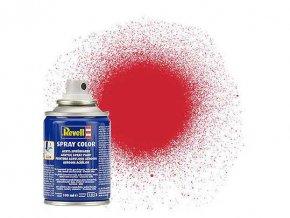 Revell - Barva ve spreji 100 ml - hedvábná ohnivě rudá (fiery red silk), 34330
