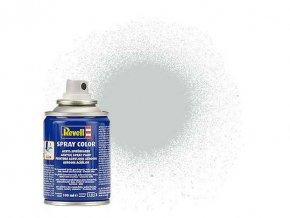 Revell - Barva ve spreji 100 ml - hedvábná světle šedá (light grey silk), 34371