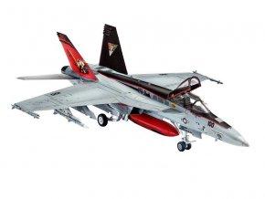 Revell - Boeing  F/A-18E Super Hornet, ModelSet 63997, 1/144