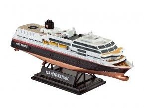Revell - výletní loď MS Midnatsol, ModelSet 65817, 1/1200