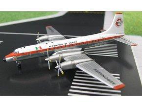 AeroClassic - Bristol Britannia 302, dopravce Aeronaves de Mexico, Mexiko, 1/400