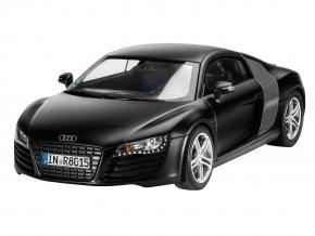 Revell - Audi R8 black, ModelKit 07057, 1/24
