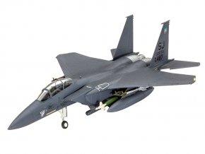 Revell - McDonnell Douglas F-15E Strike Eagle a bomby, ModelKit 03972, 1/144