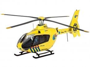 Revell - Eurocopter EC135, Nederlandse Trauma Helicopter, ModelKit 04939, 1/72