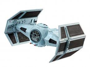 Revell - Star Wars - Dath Vader´s TIE Fighter, 1/121, Plastic ModelKit SW 03602