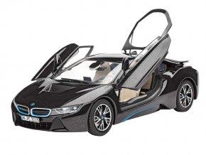 Revell - BMW i8, ModelKit 07008, 1/24