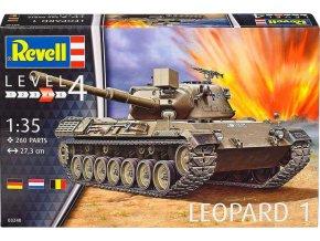 Revell - Leopard 1, Bundeswehr, ModelKit 03240, 1/35