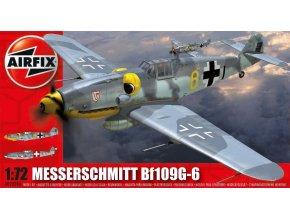Airfix - Messerschmitt Bf-109 G-6, Classic Kit A02029A, 1/72