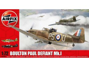 Airfix - Boulton Paul Defiant, nová forma, 1/72, Classic Kit A02069