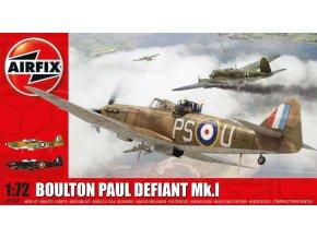 Airfix - Boulton Paul Defiant, nová forma, Classic Kit A02069, 1/72
