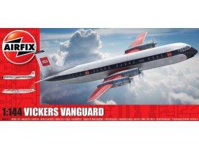 Airfix - Vickers Vanguard, reedice, Classic Kit A03171, 1/144