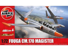 Airfix - Fouga CM.170 Magister, 1/72, Classic Kit A03050