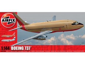Airfix - Boeing 737-100, Classic Kit A04178A, 1/144