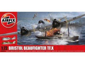 Airfix - Bristol Beaufighter Mk.X, nová forma, 1/72, Classic Kit A04019