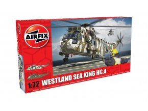 Airfix - Westland Sea King HC.4, nová forma, 1/72, Classic Kit A04056