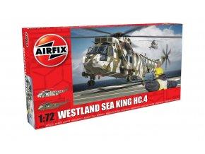 Airfix - Westland Sea King HC.4, nová forma, Classic Kit A04056, 1/72