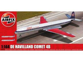 Airfix - de Havilland Comet 4B, reedice, 1/144, Classic Kit A04176