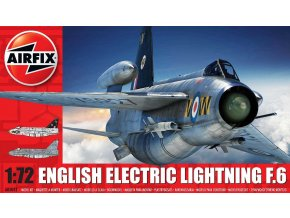 Airfix - English Electric Lightning F6, Classic Kit A05042, 1/72