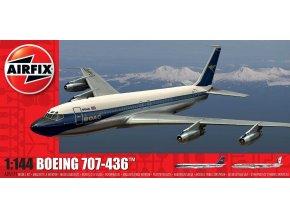 Airfix - Boeing B707, 1/144, Classic Kit A05171