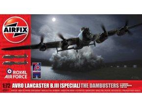 Airfix - Avro Lancaster B.III, 'Dambusters', 1/72, Classic Kit A09007