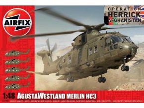 Airfix - AgustaWestland Merlin HC3, 1/48, Classic Kit A14101