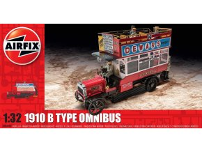 "Airfix - ""B"" Type Omnibus, 1910, 1/32, Classic Kit A06443"